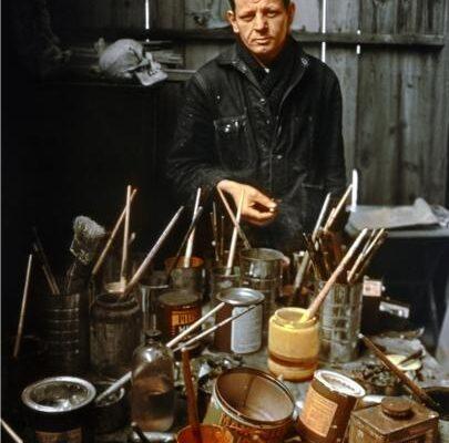 arnold_newman_jackson_pollock_long_island_1949_photo_arnold_newman_arnold_newman_