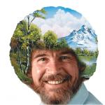 Bob Ross, el pintor feliz
